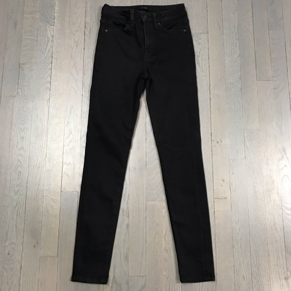 JOE'S Jeans Black Skinny Leg Ankle Crop Fit Denim